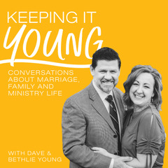 Keeping It Young Podcast Cover Sample Two